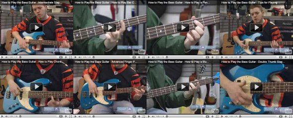 learn bass guitar vids part2