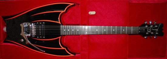 bat guitar