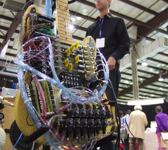 pneumatic guitar