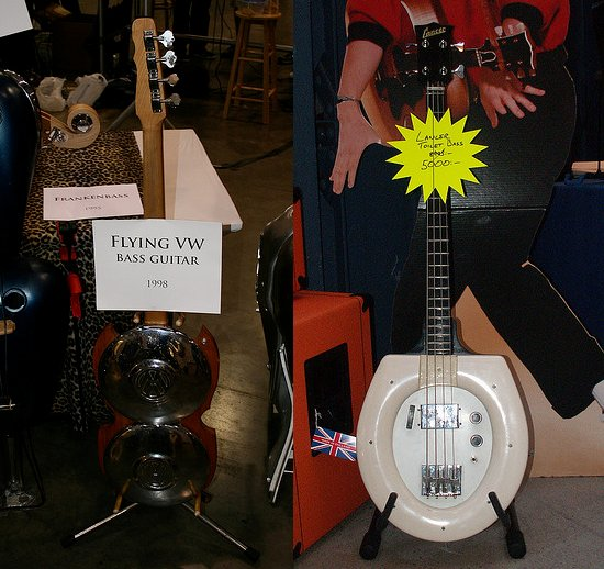 vw and toilet guitars