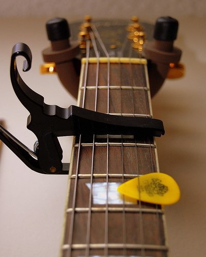 guitar capo 3rd fret