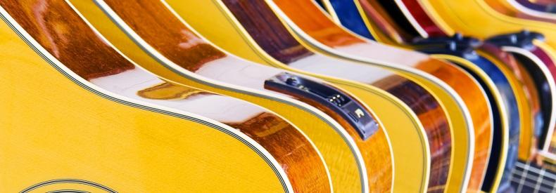 guitars storage